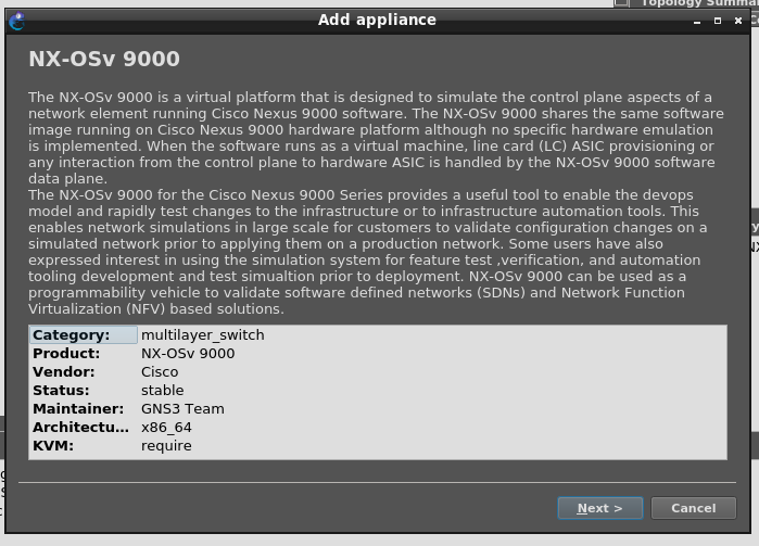 GNS画面ADDAppliance2