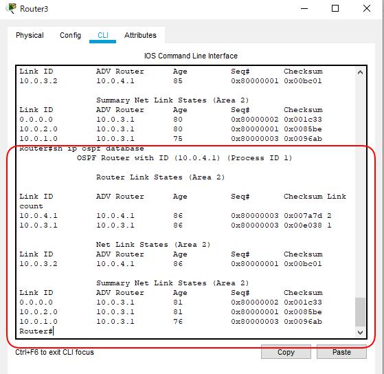 OSPF_STUB構成R3