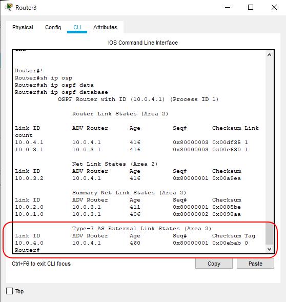 OSPF_NSSA構成R3