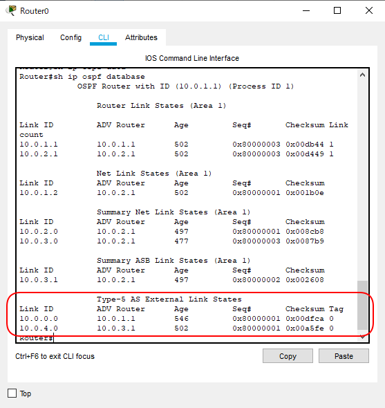 OSPF_NSSA構成R0