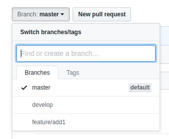 featureブランチ追加
