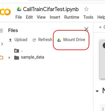 ColabでGoogleDriveマウント