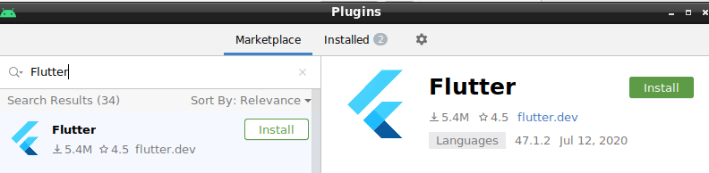 FlutterPlugin_AndroidStudio