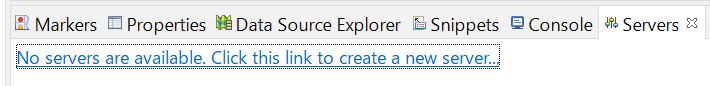 Server追加Eclipseで